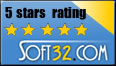 5 Star Award at Soft32.com
